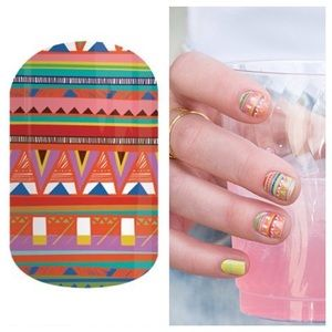 3/$15 Jamberry Nail Wraps 'Guacamole' Half Sheet